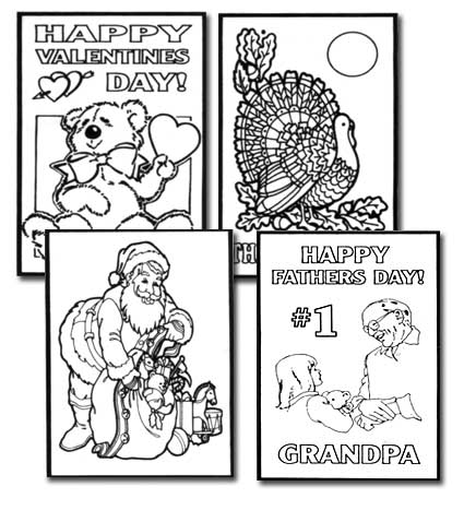 G709 Holiday Coloring Set